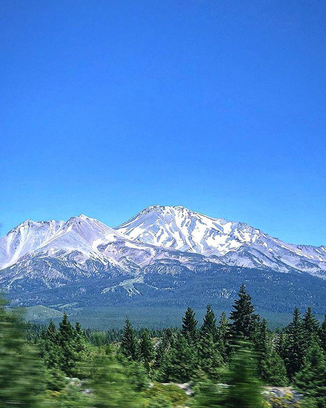 Mount Shasta   #mountain #snow #bluesky #sky #greentrees #Oregon #nature #mountshasta