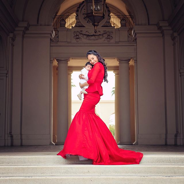 """""""A mother is she who can take the place of all others but whose place no one else can take.""""   www.jasenmancilla.photography #mothersday #love #cute #red #pasadena #cityhall #dress #baby #photo #photography #mom #ilovemymom #quote"""