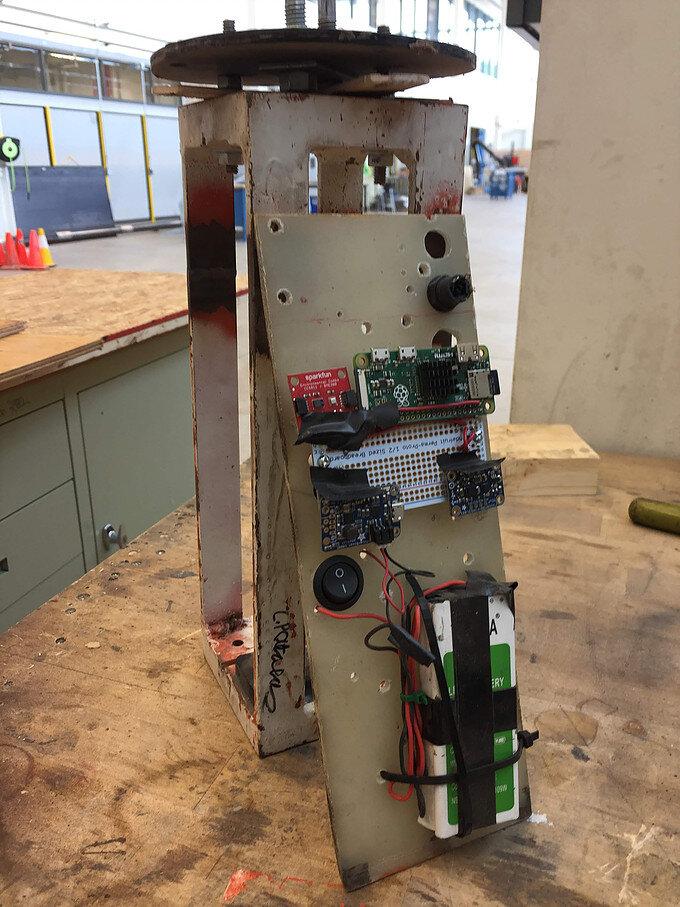 RocketryPayload - Custom Raspberry Pi Aerodynamics Data Acquisition Module