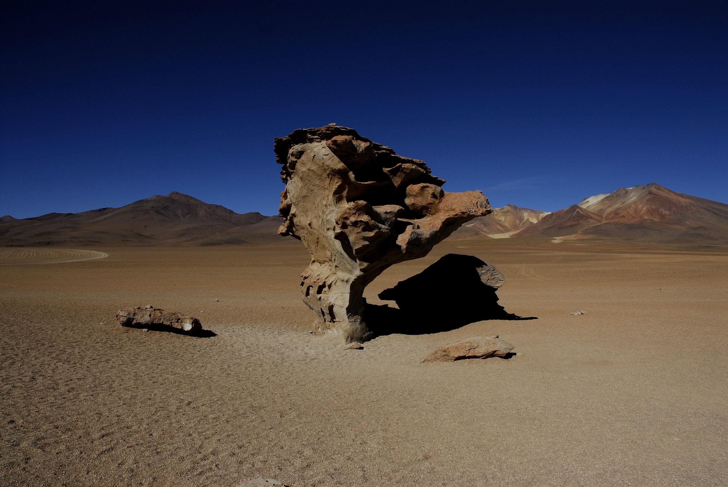 Arbol de Piedra | Sur Lípez Province, Bolivia | 22°04′0″S 67°07′0″W