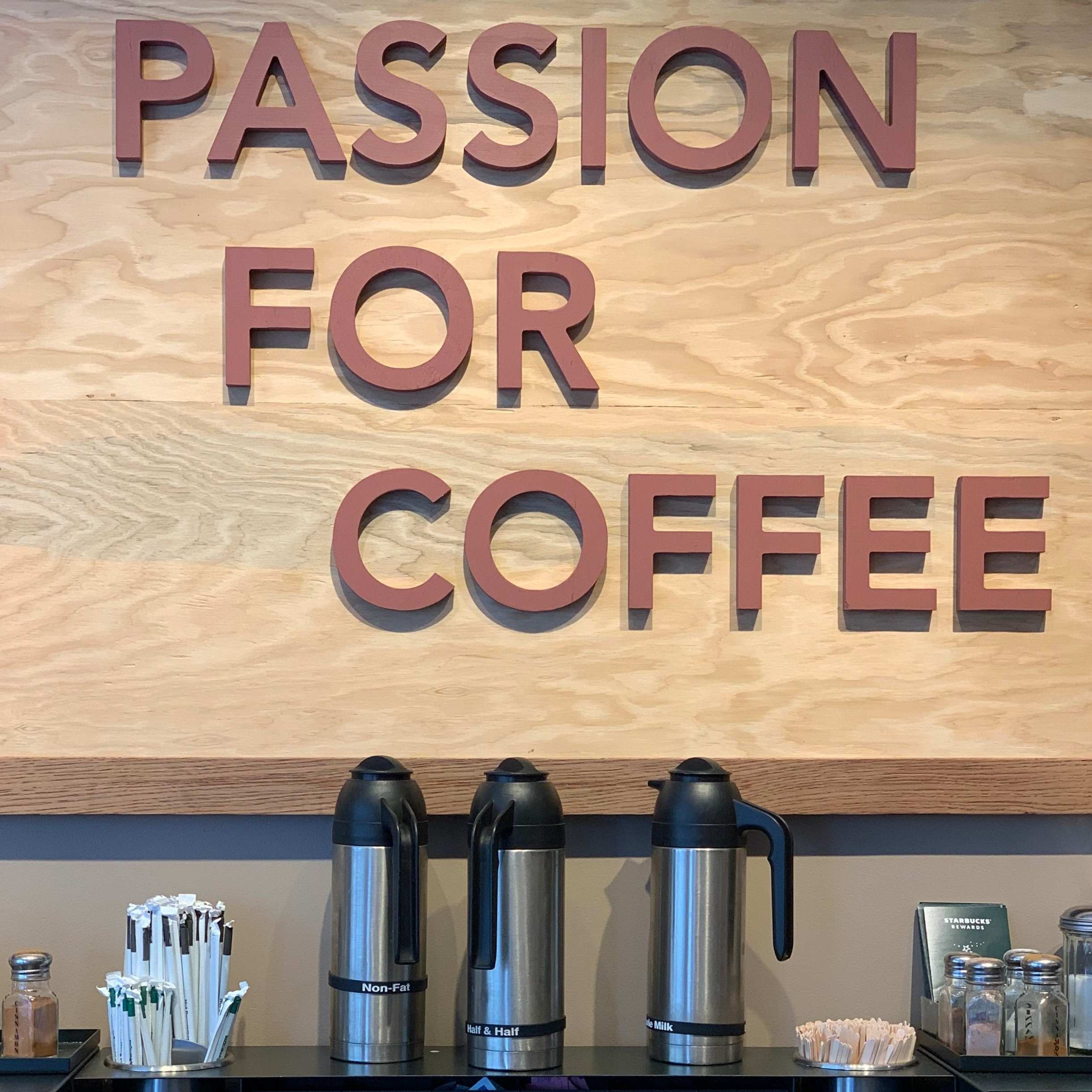 passion for gluten free coffee