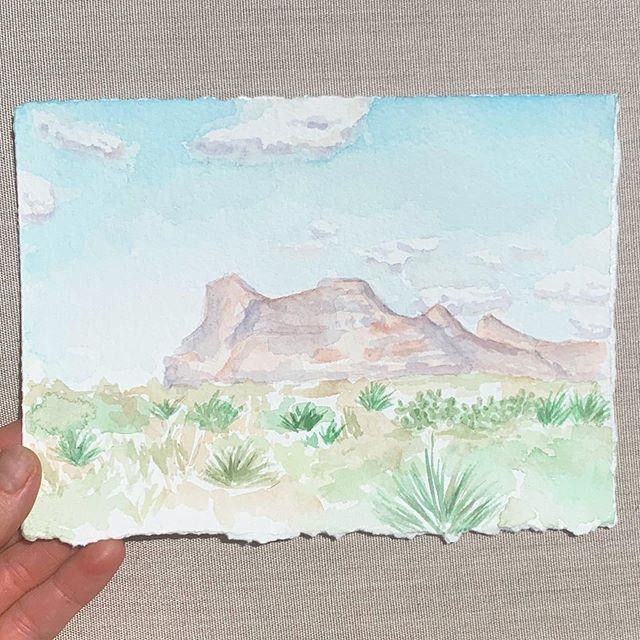 Teeny tiny landscape 💕