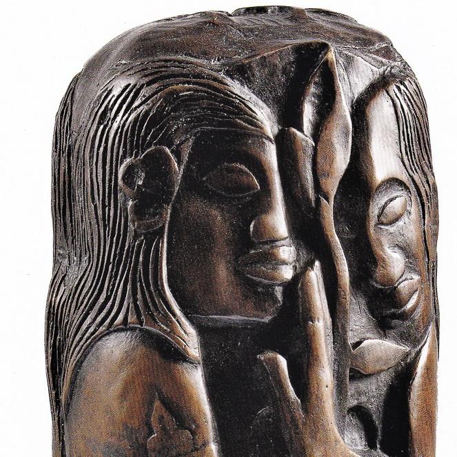 Paul Gauguin Hina Te Fatou - 1893