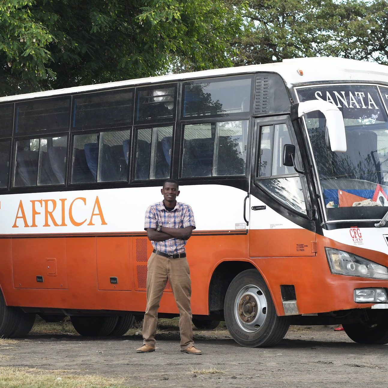 Vincent - Vincent is the Restart driver and takes the children to school and on other trips in the Restart Africa bus. He is a keen footballer and trains with the children in his spare time.