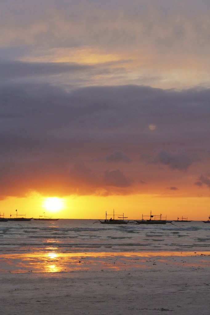 Sunset on Boracay