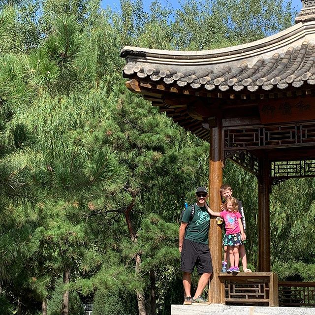 A pretty perfect day in Beijing. Love spending it with these three.