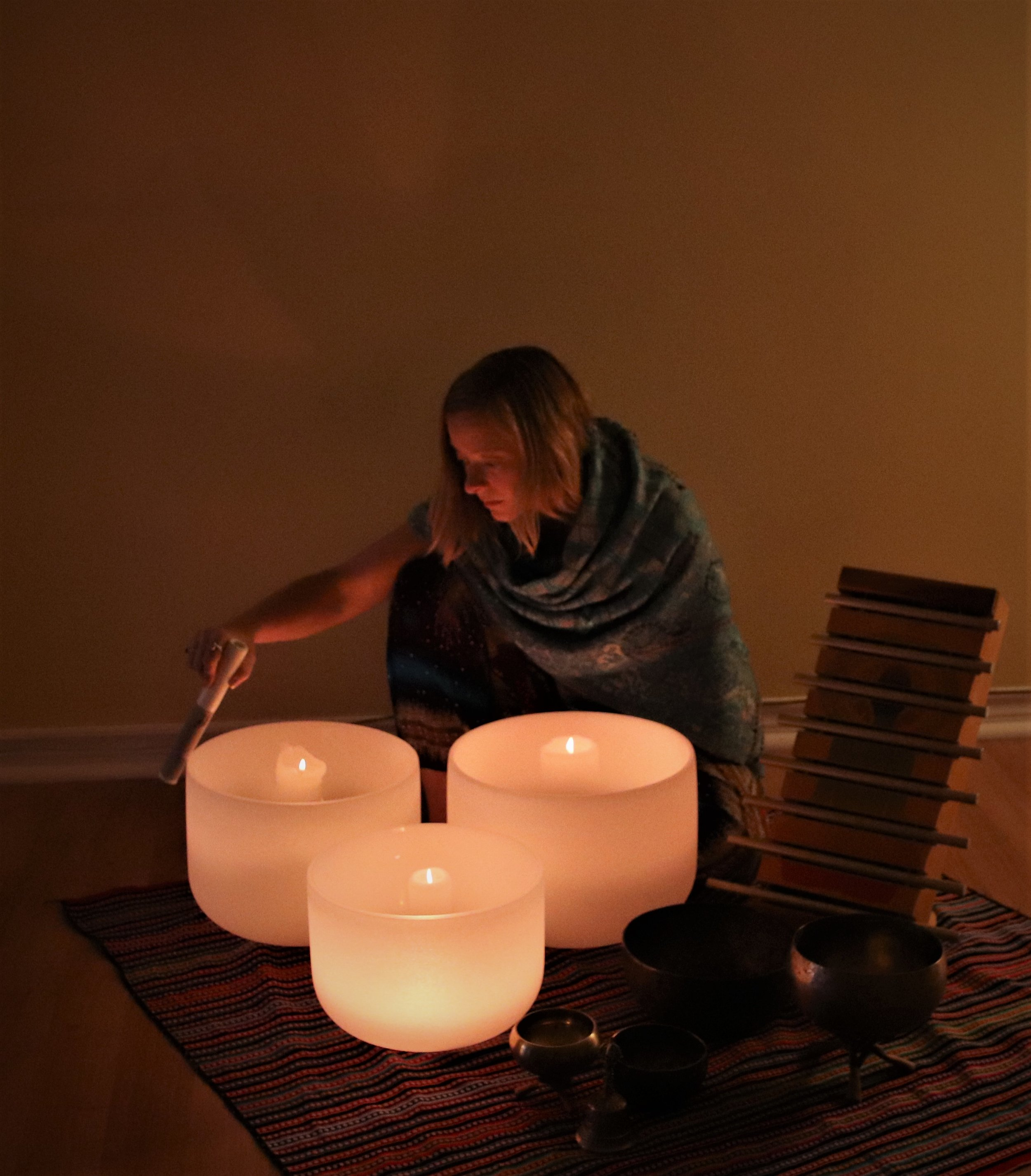 Crystal Singing Bowls, Tibetan Singing Bowls and Chakra Chime! Guides for your healing journey!