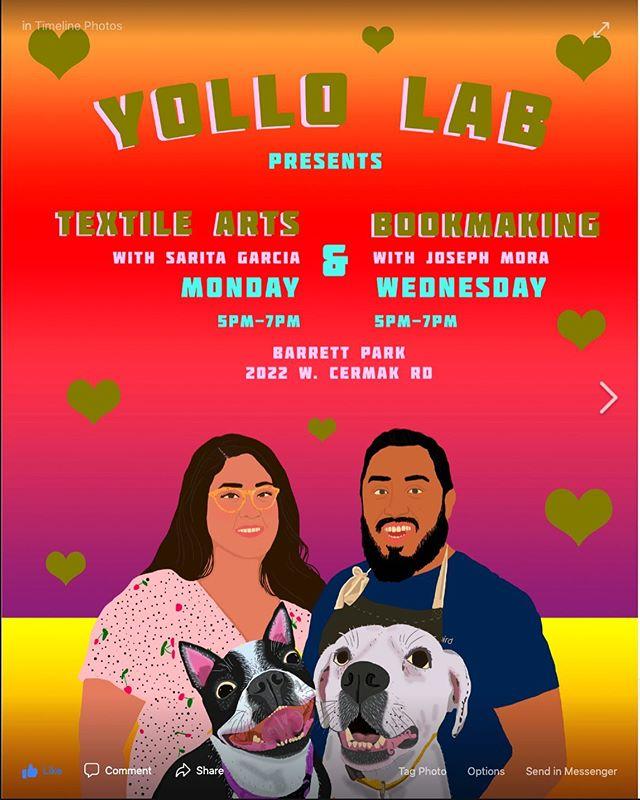 Yollo Lab with @josephjosuemora and @saritadanielle