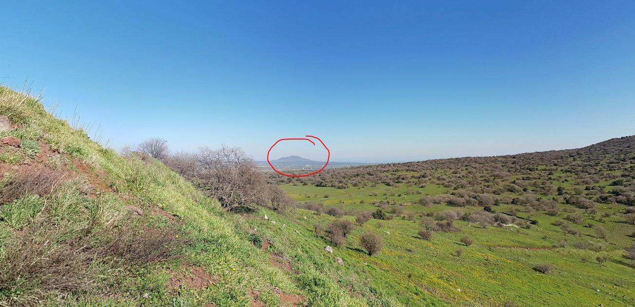 Tel Al-Harra from Israel - Image Courtesy of Google Maps Street View