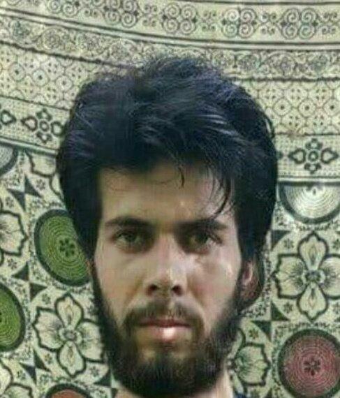 Photo of Adil Das taken when he joined Lashkar-e-Taiba in 2018