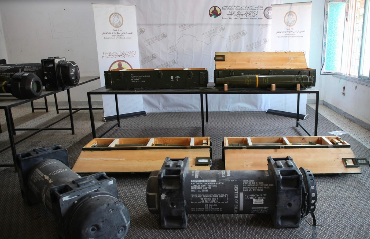 The missiles found in Libya