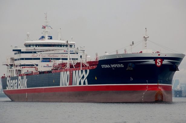 Stena Impero, One of the tankers seized by the IRGC