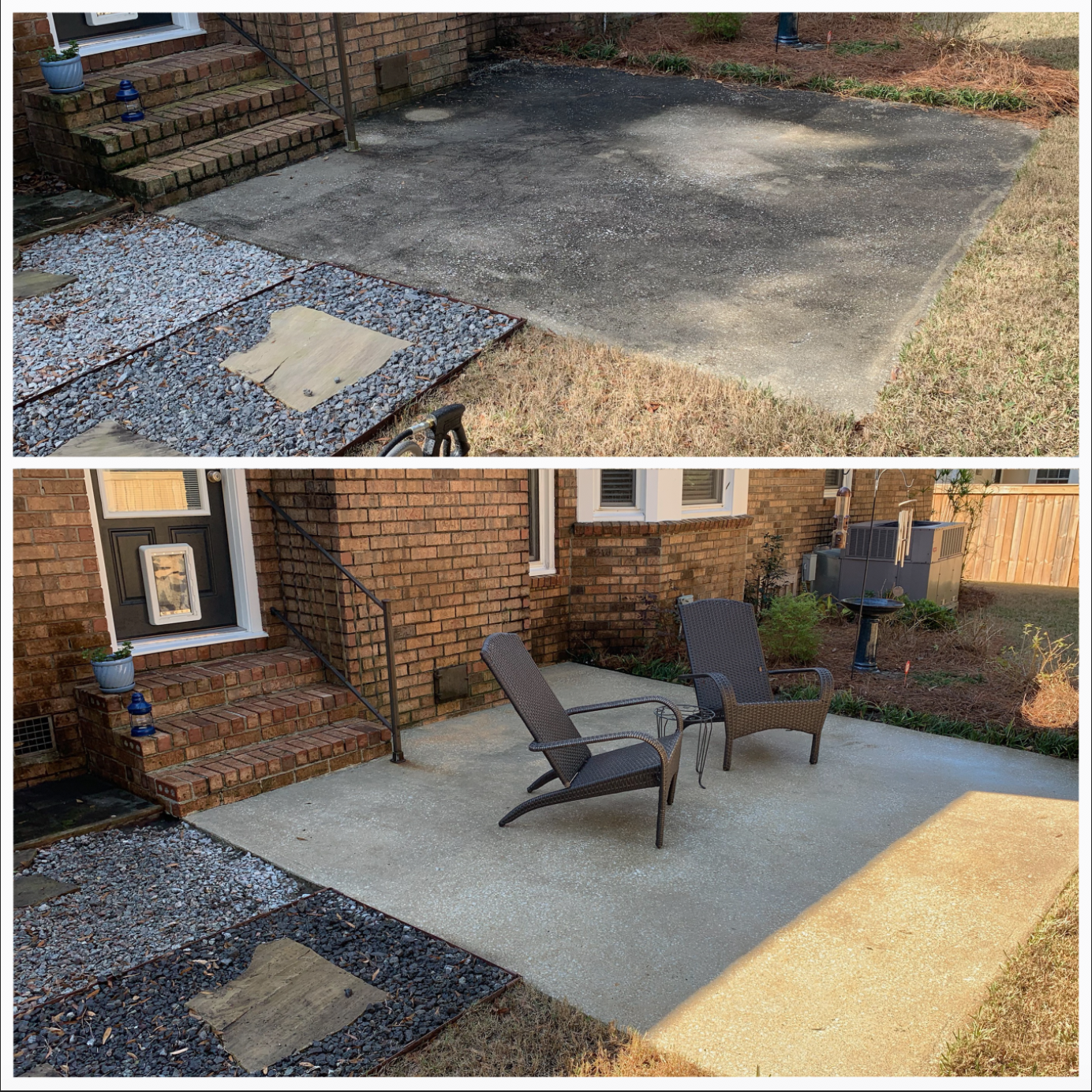 Pressure Washing - Commercial or residentail there is no project too large or too small. Pressure washing your home can be incredibly beneficial. When done by a professional, pressure washing can clean your house of grime, bird droppings, and unsightly stains without causing any damage! We can remove mold and mildew, which are damaging to both your home and the health of your family. Keep your property looking great year around.