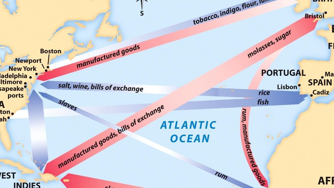 1607 - 1763: Colonies -