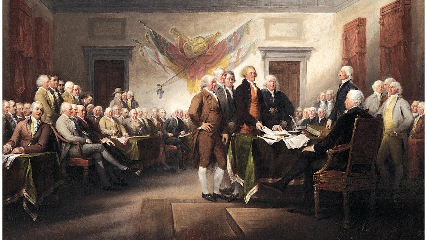 1763 - 1783: American Revolution -