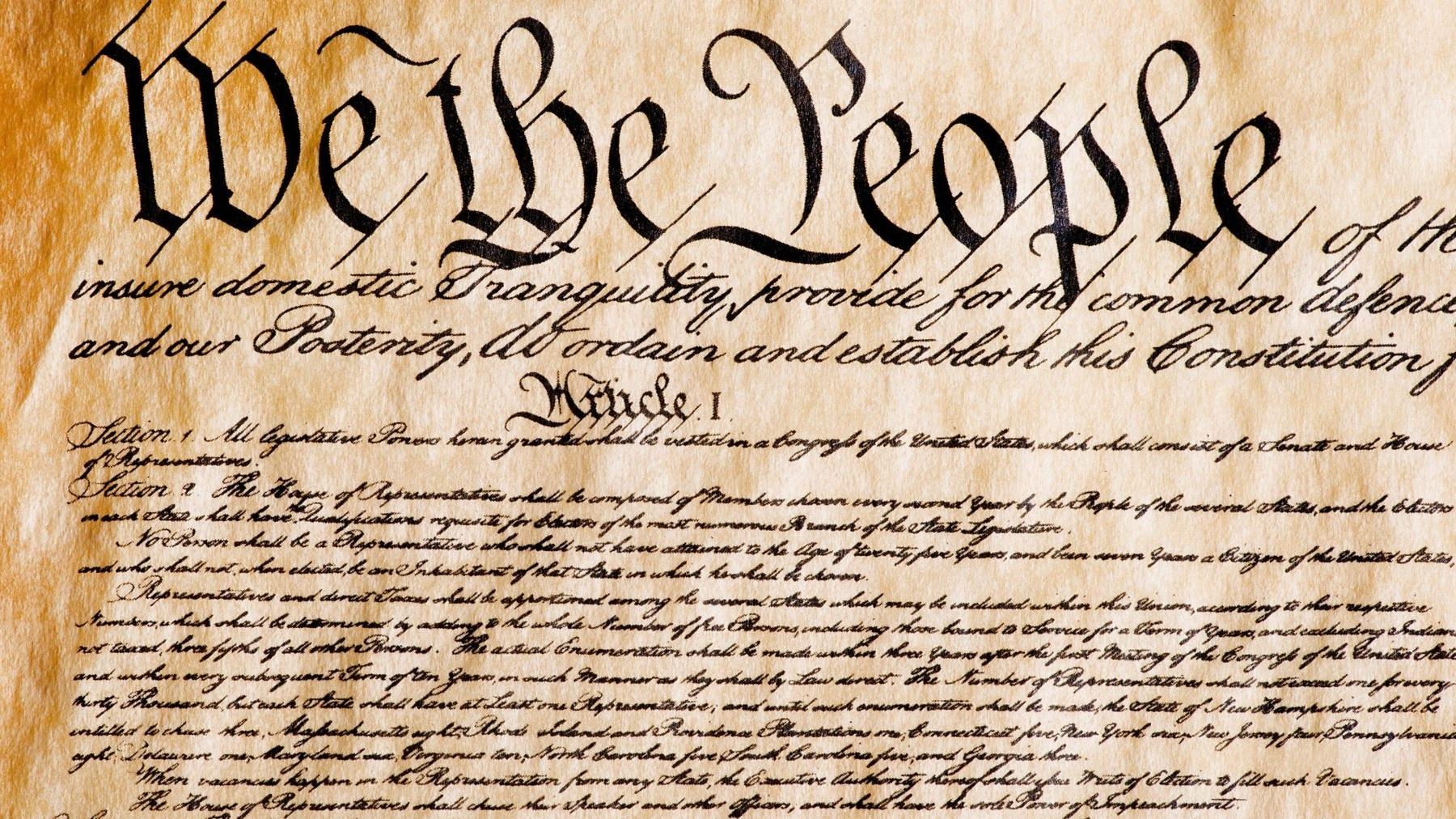 1783 - 1796: Constitution -
