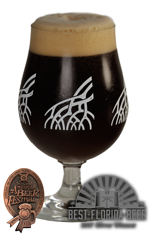 duke snider's imperial STOUT - 10% ABV - 85 IBUServing Size: 12ozRobust Imperial English StoutAWARDS:The Great American Beer Festival, Denver CO2017 Best Florida Beer - Silver