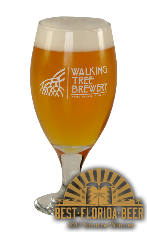 White Walking Tree IPA - 7.1% ABV - 50 IBUServing Size: 16oz DraftLight and crisp Florida style IPAAWARDS:2018 Best Florida Beer - Bronze