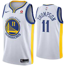 Golden State Warrior 11 Klay Thompson Basketball Jersey White Player Edition Jersey Hierarchy