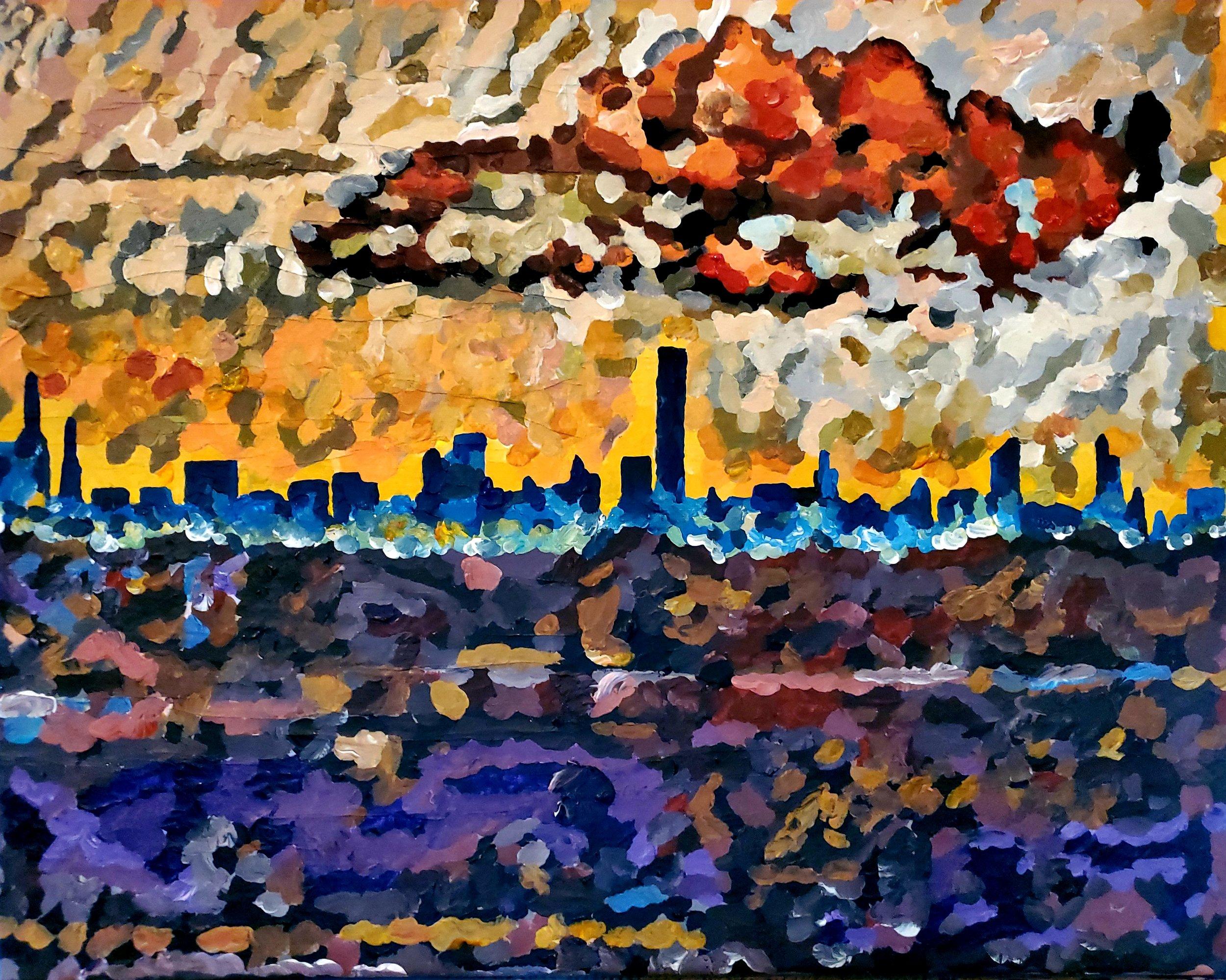 NYC Skyline from LaGuardia