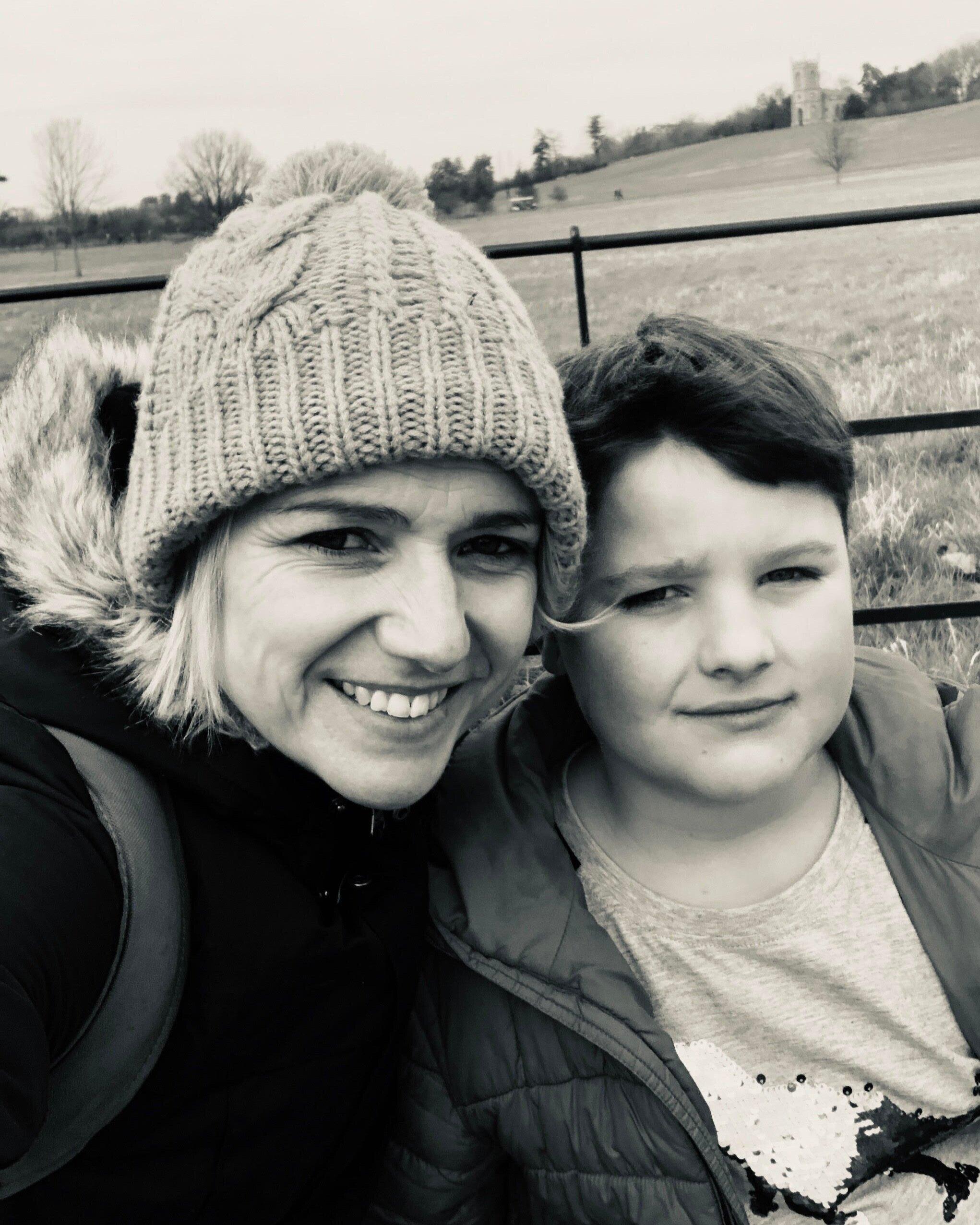 Vicki Buchalik and her son, Jimmy.