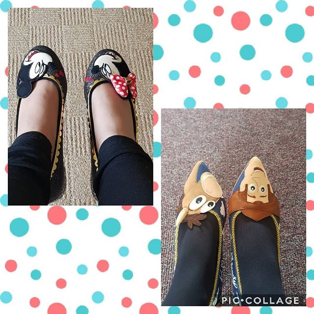 Today Toy Story or Mickey Mouse. Flats today. I love both these pairs. Mickey Mouse shoes are so sparkly.  @irregularchoice do #disney so well! #irregularchoiceshoes #loveirregularchoice #irregularchoice #shoeaddiction #beyourself #justbeyourself #over40andfabulous #fashionover40 #over40mom #ageisjustanumber #heelslover #confidenceiscontagious #quirkyqueen #quirky #stayquirky #shoesofinstagram #disneystyle #stayhappyalways #feelgood #glamorouswomen #bedifferentbeyou #teacherstyle #disneyteacher #quirkyandcurvy #standout #teacherootd #statementshoes #shoegameonpoint