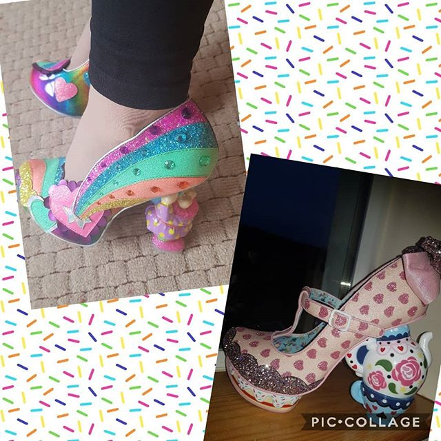 Gnomes or Alice tea cups?? Concept heels today. Love these though they really push me away outside my comfort zone. They make me smile and make me feel confident when I do wear them!! @irregularchoice amazing shoes again #irregularchoiceshoes #loveirregularchoice #shoeart #shoeaddiction #beyourself #justbeyourself #over40andfabulous #fashionover40 #over40mom #ageisjustanumber #heelslover #confidenceiscontagious #quirkyqueen #quirky #stayquirky #shoesofinstagram #disneystyle #stayhappyalways #feelgood #glamorouswomen #bedifferentbeyou #teacherstyle #disneyteacher #quirkyandcurvy #standout #teacherootd #statementshoes #shoegameonpoint