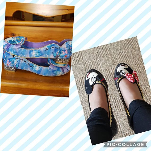Mickey Mouse or Cinderella today. Love both these pairs but then I love Disney and @irregularchoice do it so so well.  #icshoes #irregularchoicefan #irregularchoice #shoesaddict #iloveirregularchoice #shoeobsession #alwaysbeyourself #beingyourself #over40 #styleover40 #over40fashion #styleoverforty #confidenceisbeauty #quirkyfashion #quirkystyle #uniquelyme #shoelove #teachershoes #embraceyourcurves #disneyfashion #stayhappy #shoestobehappy #feelgoodfashion #teacherlife #teachersbelike #shoeoftheday #365daysofirregularchoice #shoequeen