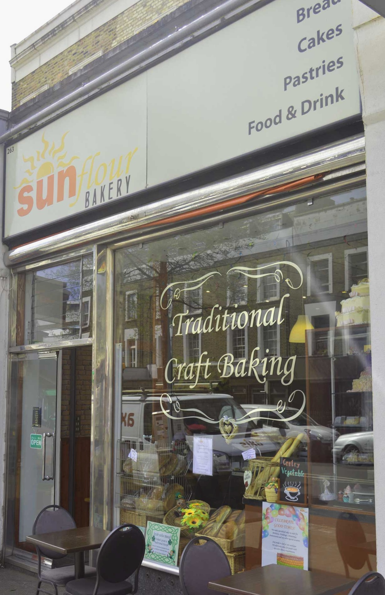 Our bakery and cafe on Caledonian Road.