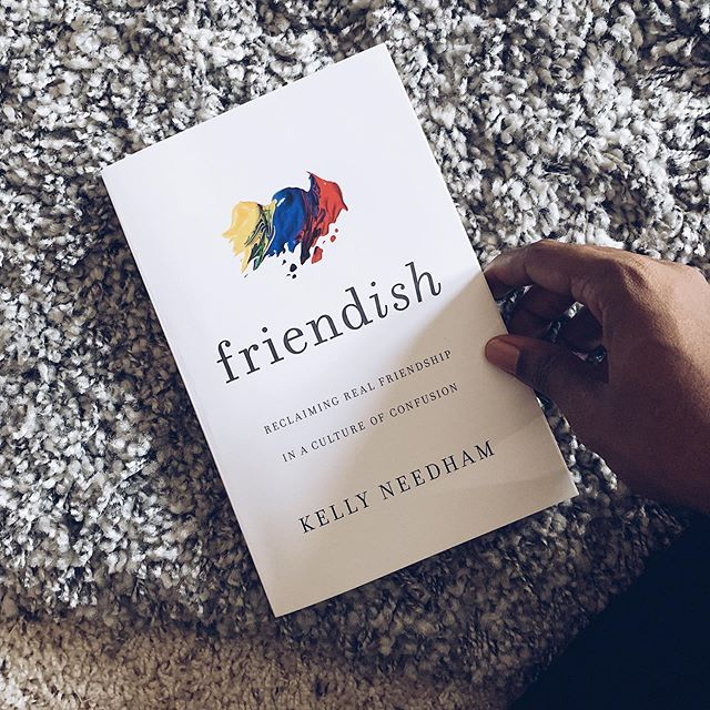 "On Ep.3, we discussed ""Toxic Friendships. During it, I (Jackie) briefly mentioned the book ""Friendish"" by @kellyneedham. If you're looking for a biblical resource on how to think through the concept of friendship, I would highly recommend this gem here! It covers everything from what healthy friendships look like to the rise in inordinate friendships that mimic the covenantal commitment of marriage.  Trust me, you need this on your shelf."