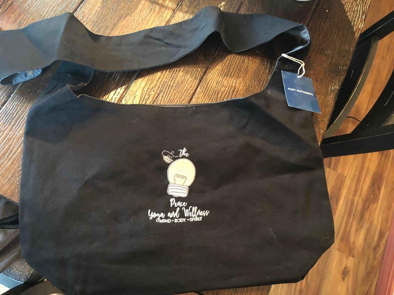 Peace Yoga and Wellness Bag $22