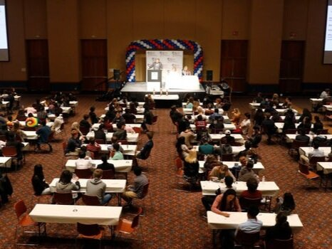 A state-level Academic WorldQuest competition (North Texas).