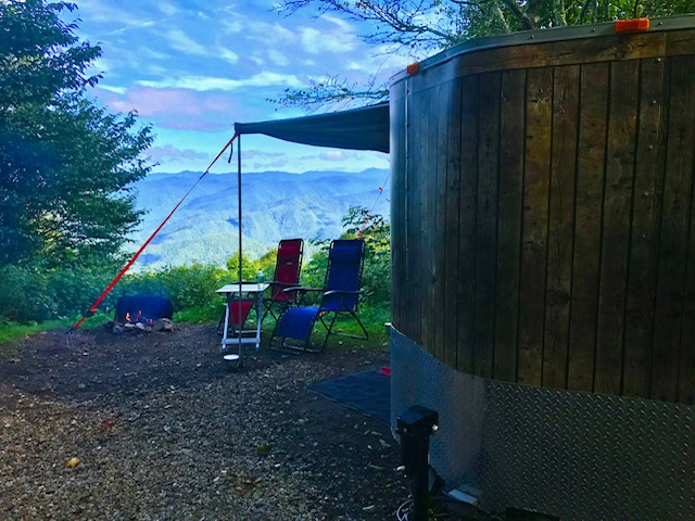 """""""Our camp spot #22."""""""