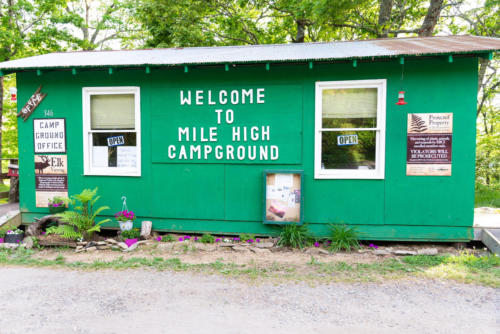 About us - Mile High Campground was established in 1998 by Glen J. Bradley, Jr., an enrolled member of the Eastern Band of Cherokee Indians. Click below to learn more.