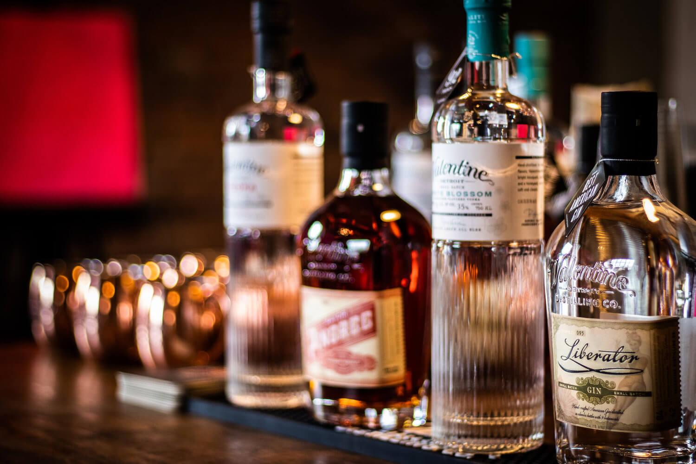 Valentine Distilling Tasting Room