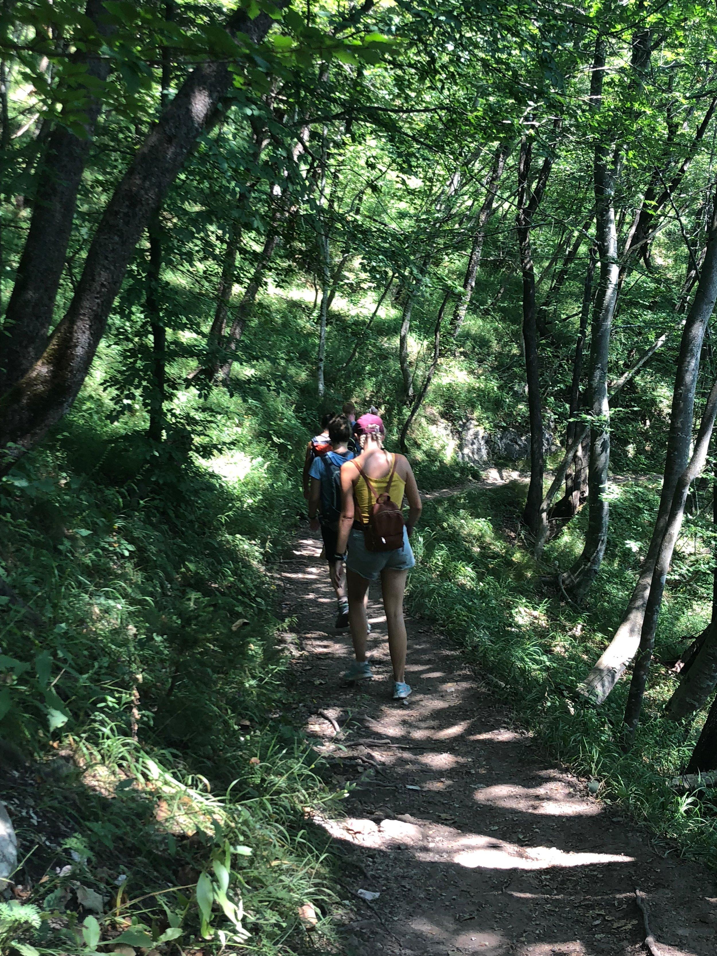 Exploring Plitvice Lakes