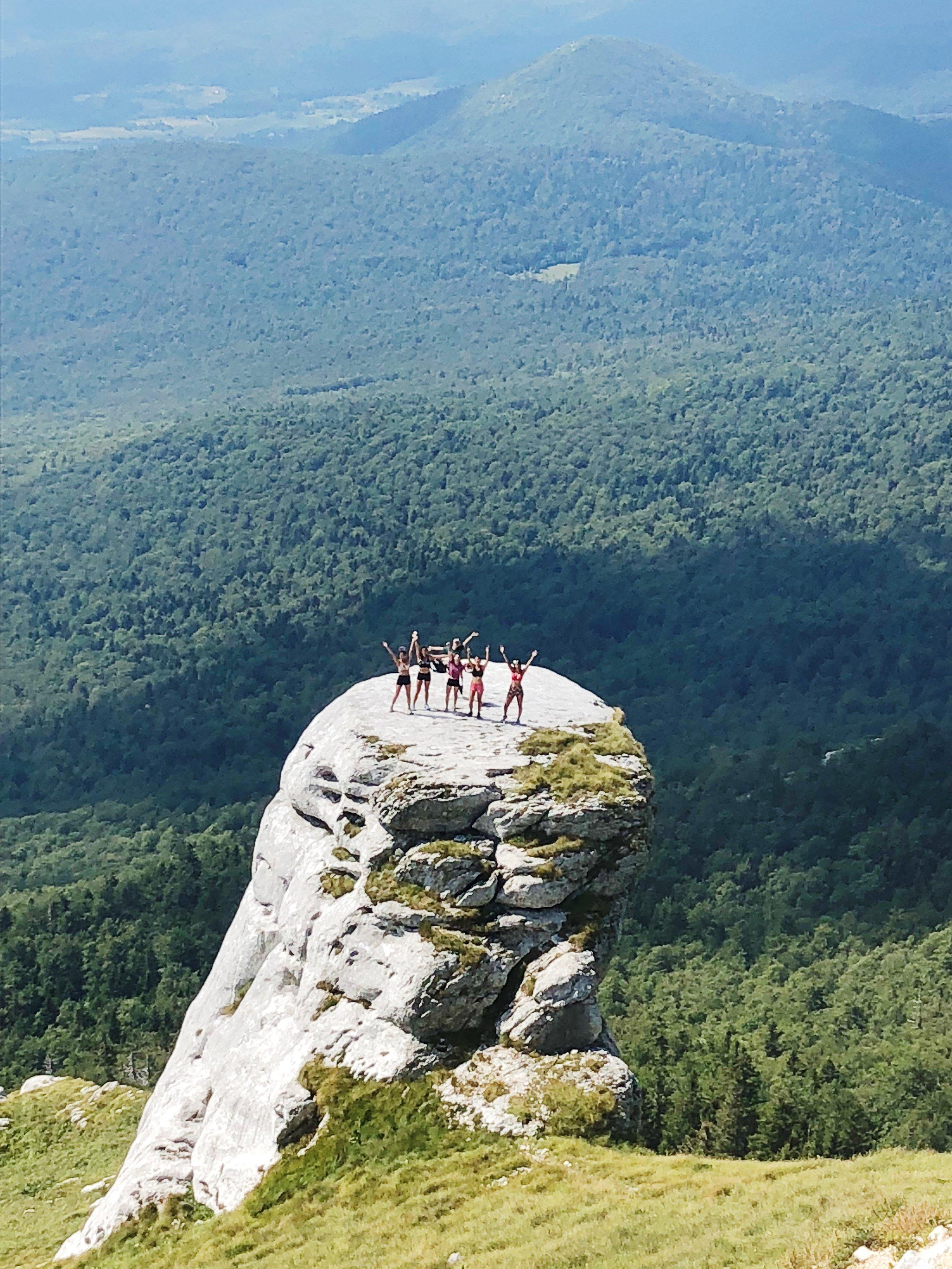 Treking Plješevica Mountain