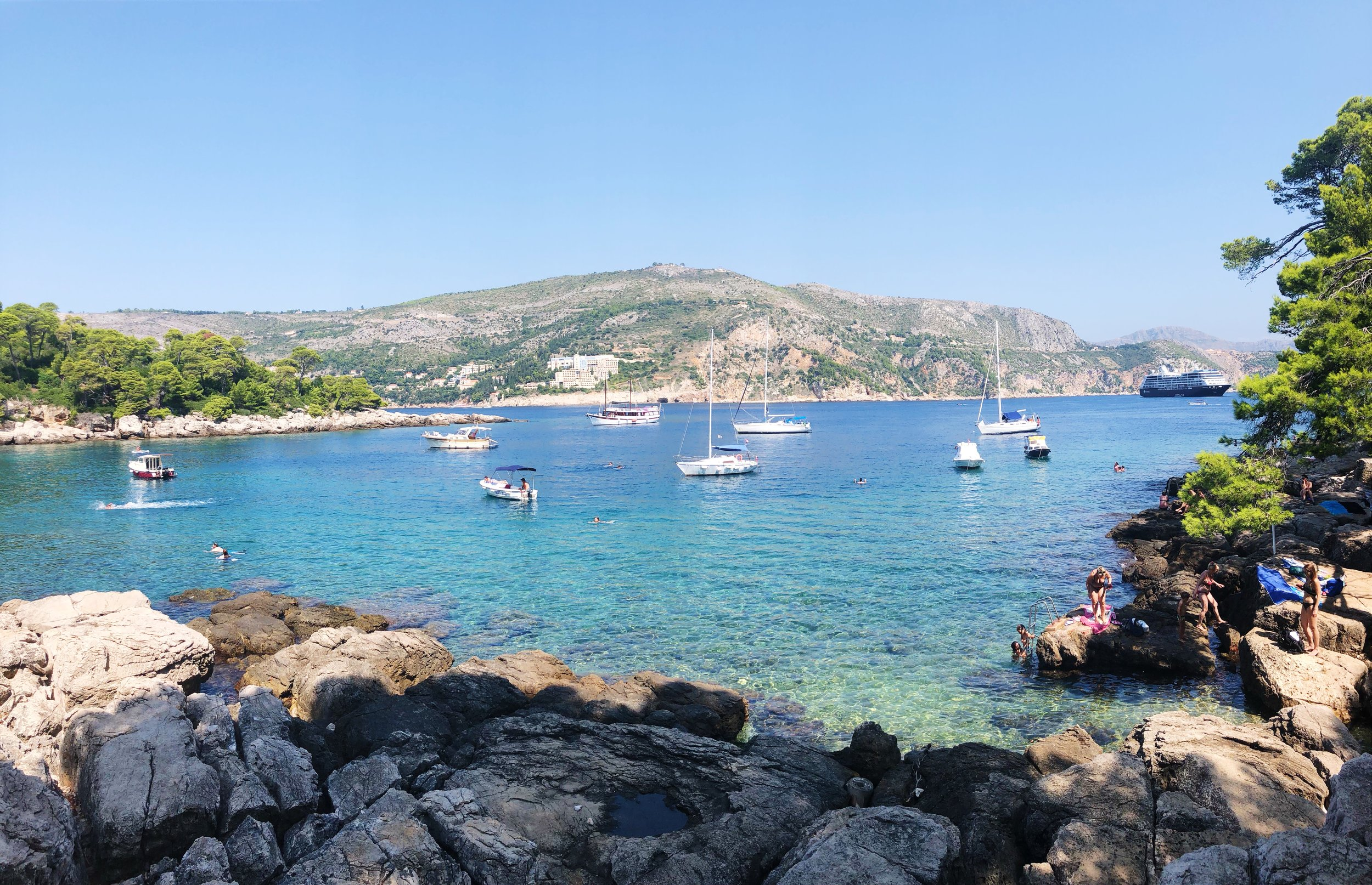 Beautiful Lokrum Island in Dubrovnik, Croatia