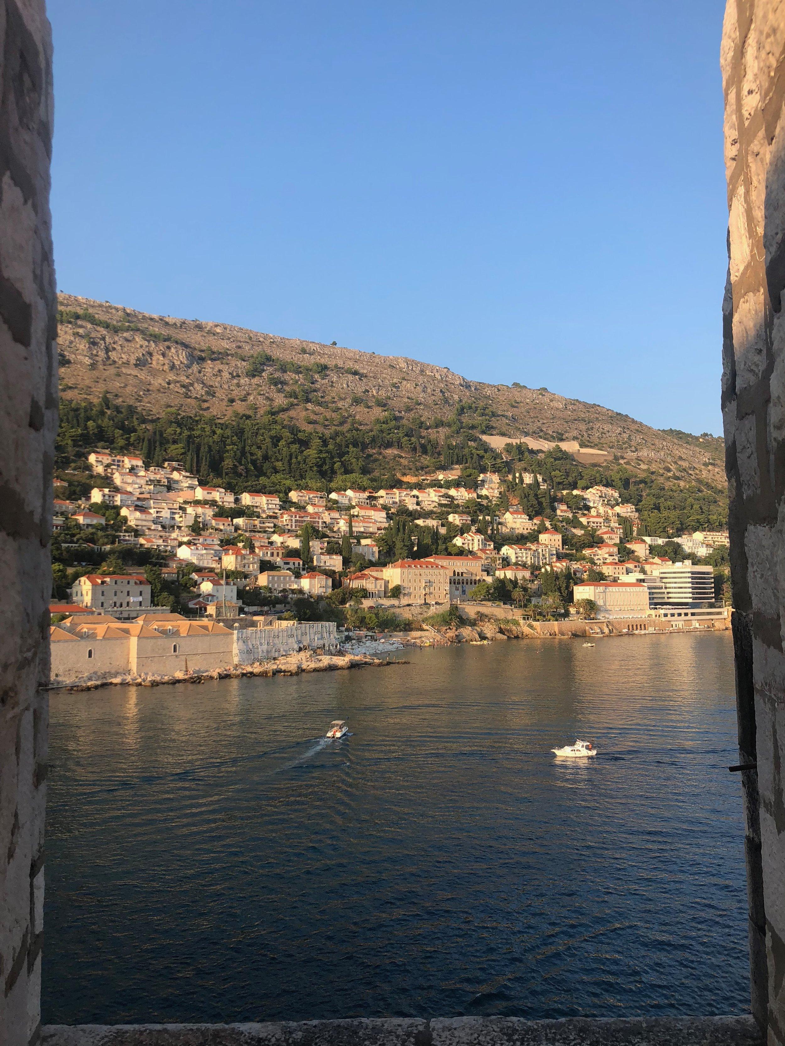 Dubrovnik, Croatia island view
