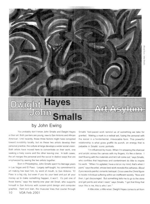 VOA_2001_Feb_Dwight Hayes & John Smalls