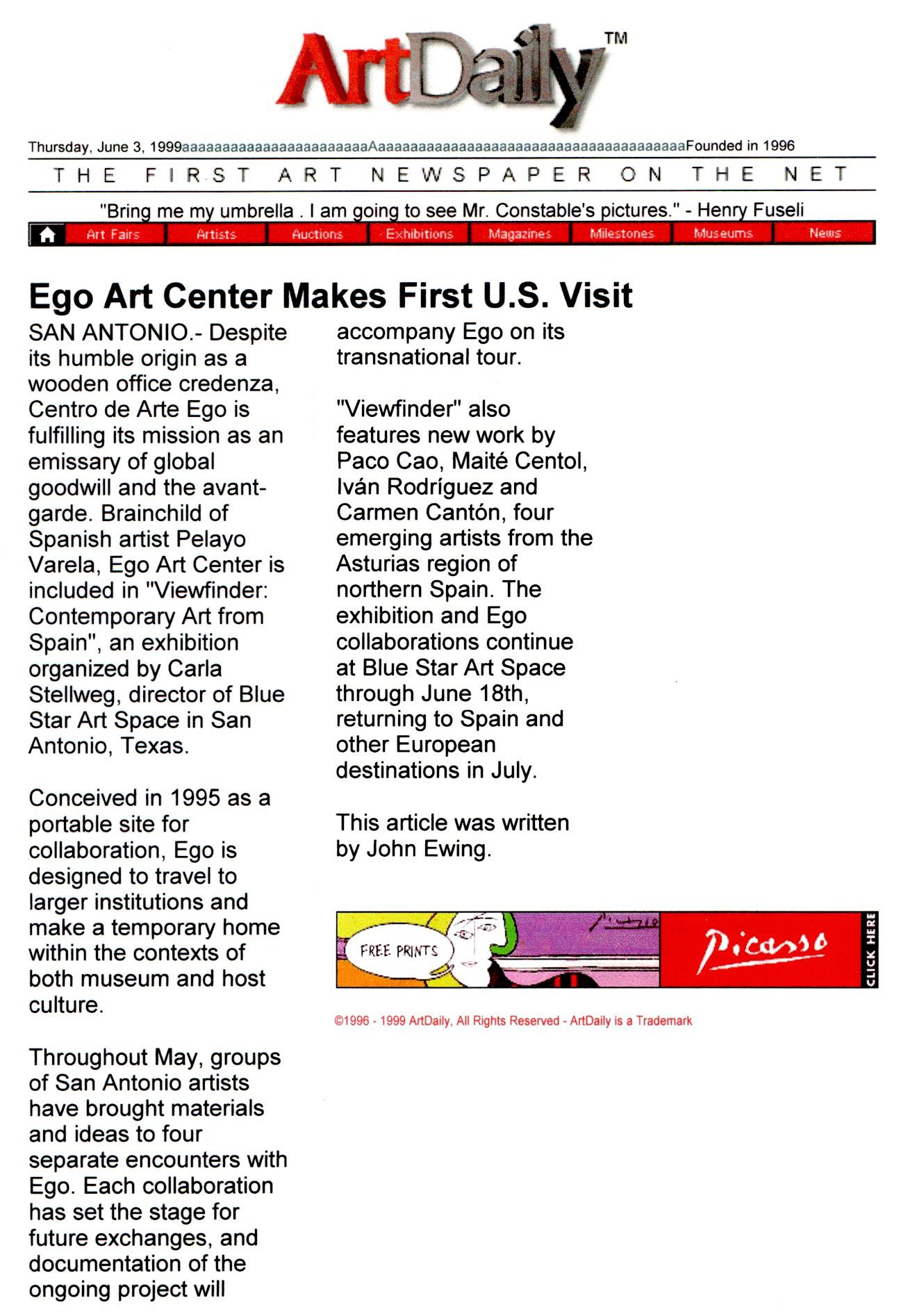 ArtDaily.com_1999_Ego Art Center