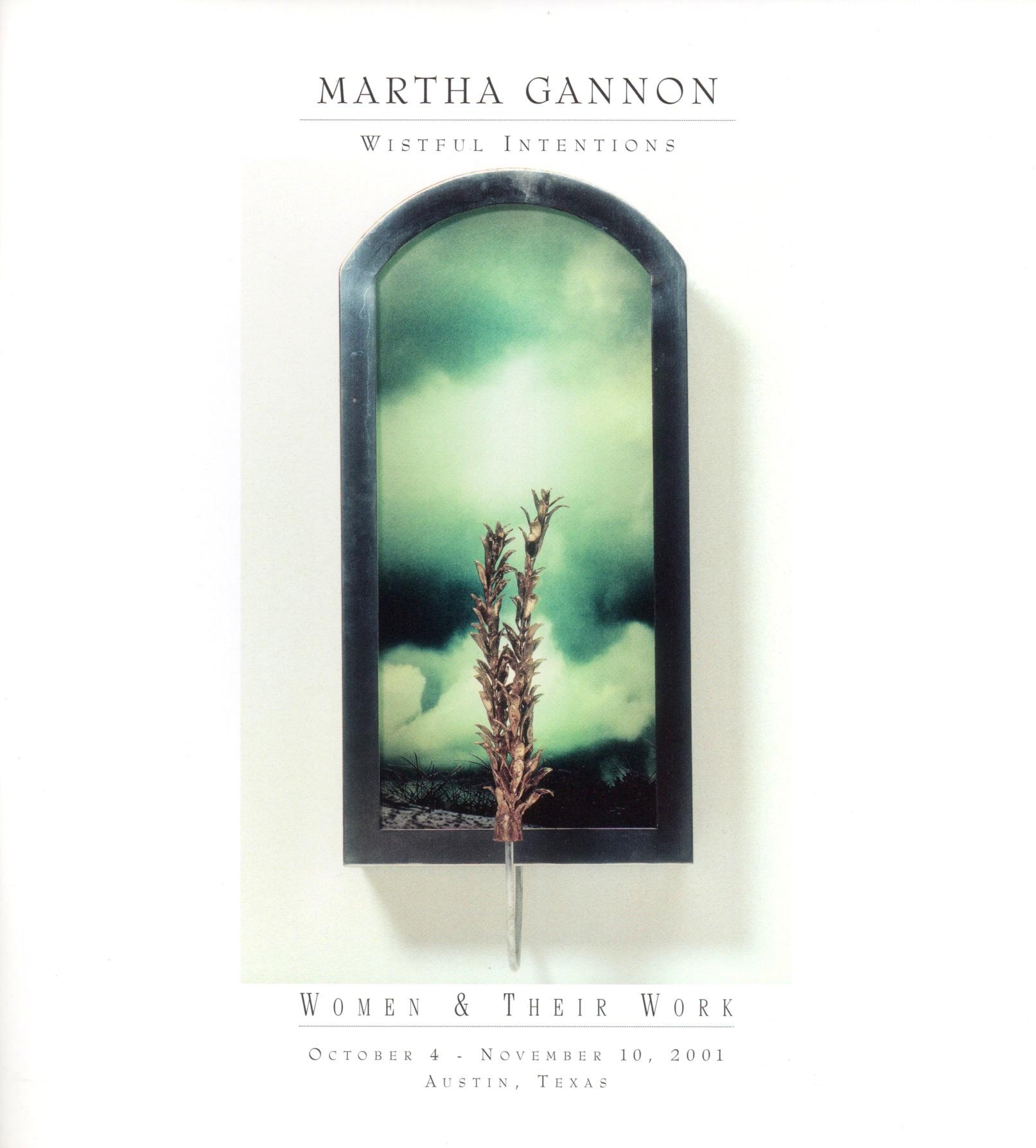 Martha Gannon_Wistful Intentions_Women and Their Work_Austin_2001