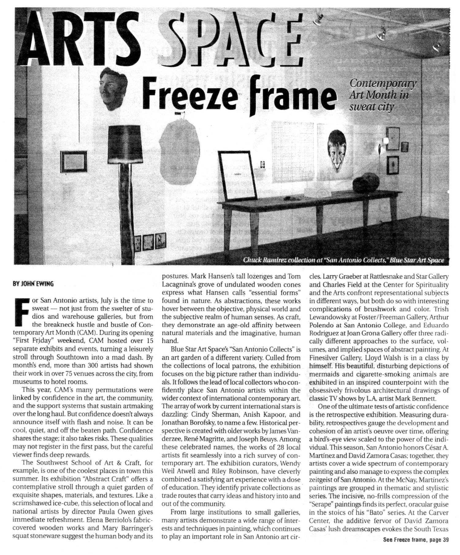 SC_1999_Aug. 5-11_Contemporary Art Month