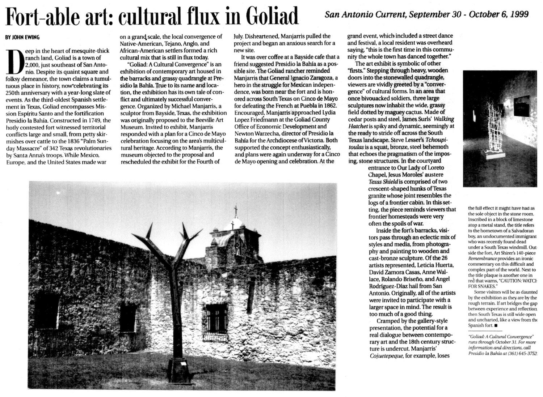 SC_1999_Sept. 30-Oct. 6_Goliad, A Cultural Convergence