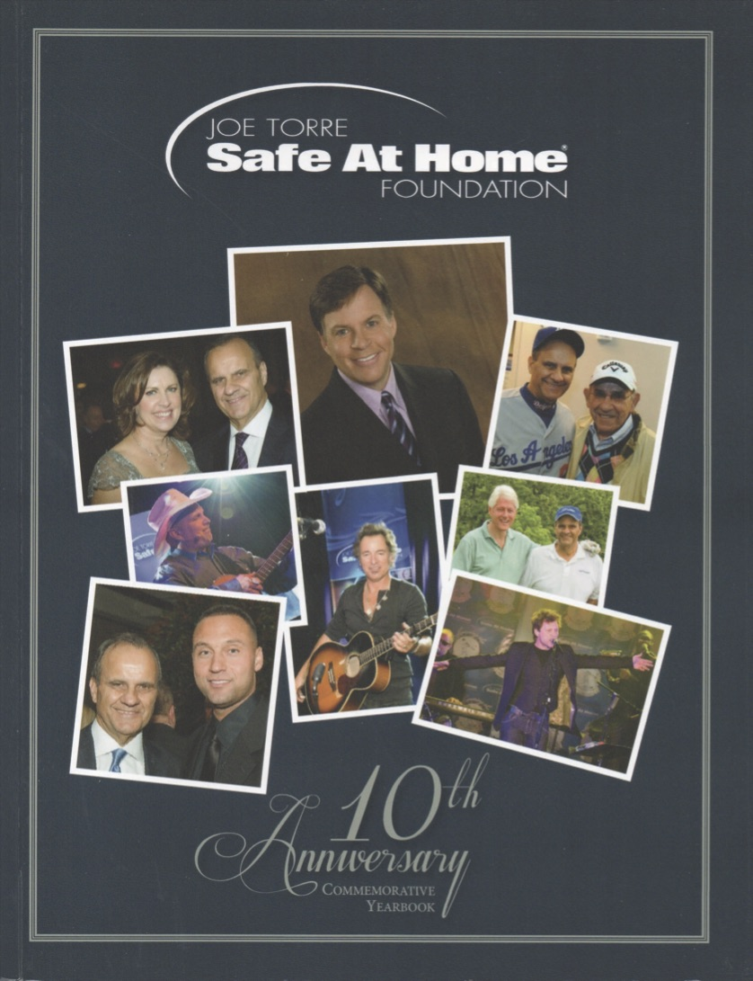Safe At Home Foundation_10th Anniversary Yearbook