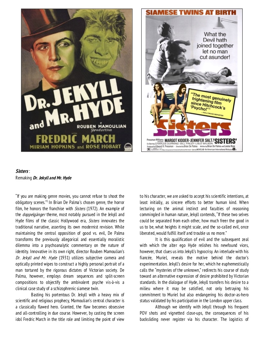 Dr. Jekyll and Mr. Hyde_ Sisters