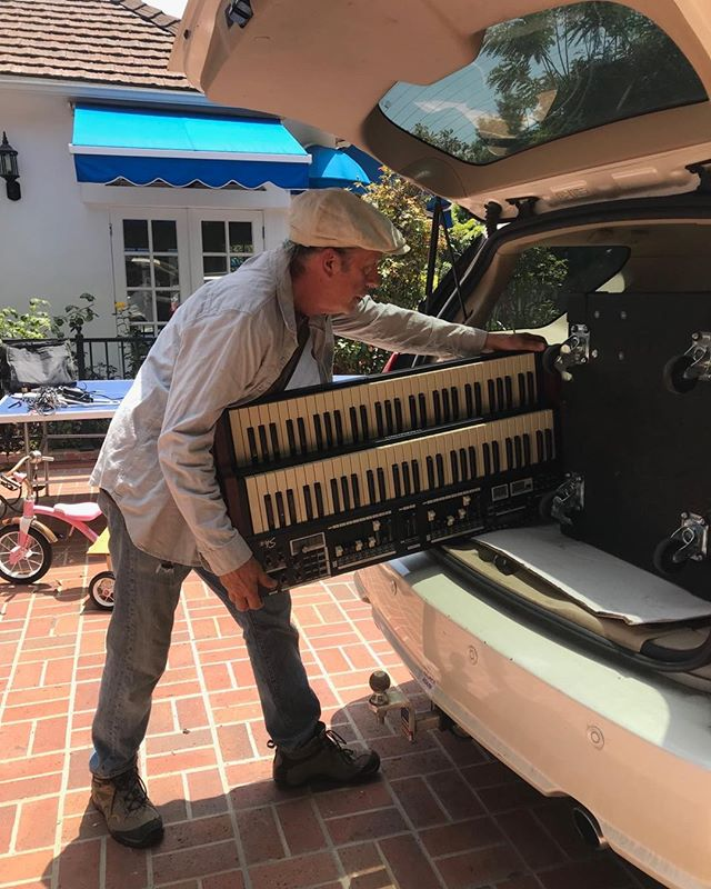 the magic begins - sneak preview ! TODAY!! 4-6 @Mailbu Lumber Yard in the courtyard @Habana.  DB3 International  with  Dan Bonow Organ  Amit Heri Guitar S.India  Katja Rieketmann TenorSax Holland  Linzy Rose singin'  This just came in -  YAY for LIVE music!!! #lalivemusic #nusoul #hammondorgan #lafunk