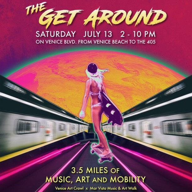 Saturday July13 2-8pm Meaningful Music Moshup.  Guests sharing notes - no votes.  My LA band sputters into life!!!! Consider this a sneak peek, freak! DB3 shows at 2 & 4:30 Plenty of Musers ... Bring yourself - muse ... it's FREE!! did I hear FOODTRUCKS?? I sure hope somebody is prepping dome organic falafels RIGHT NOW!! #marvistaartwalk #getaround #venicemusic #nusoul #westcoastsound