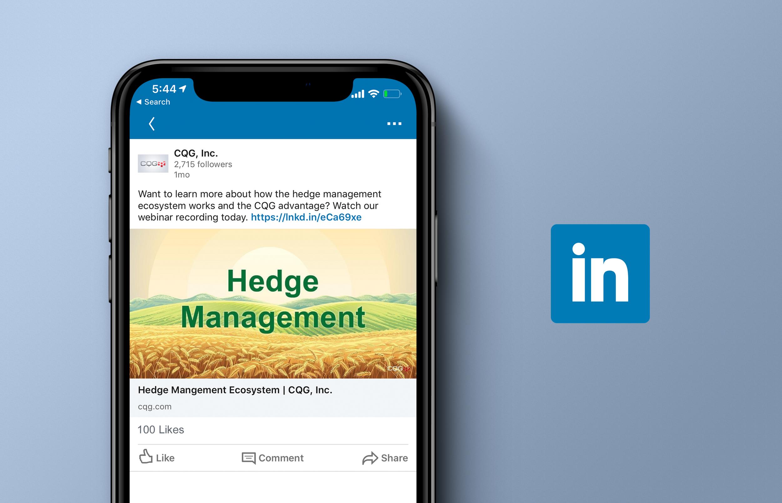 Hedge Management Initiatives