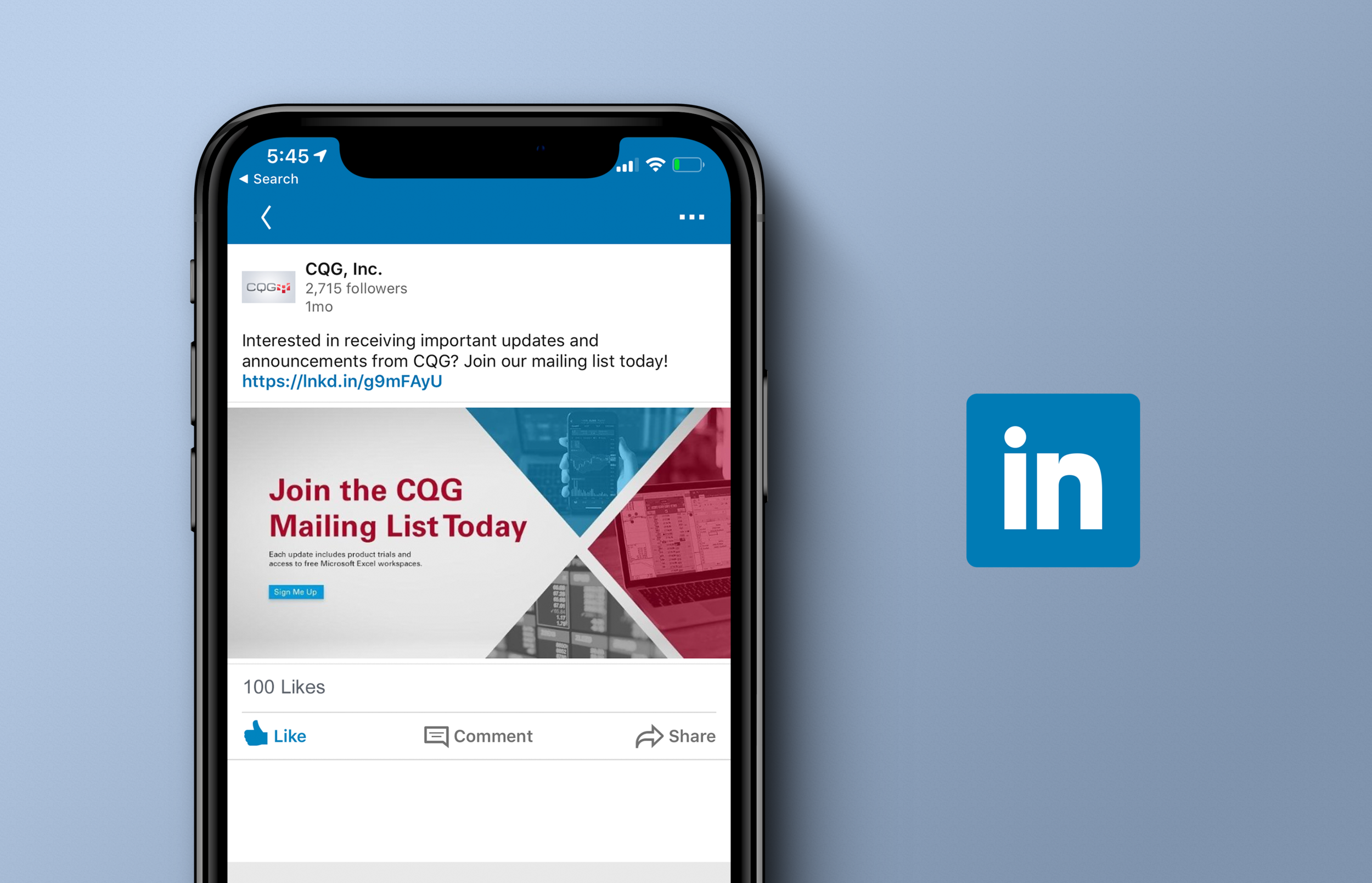 Join the CQG Mailing List Initiative